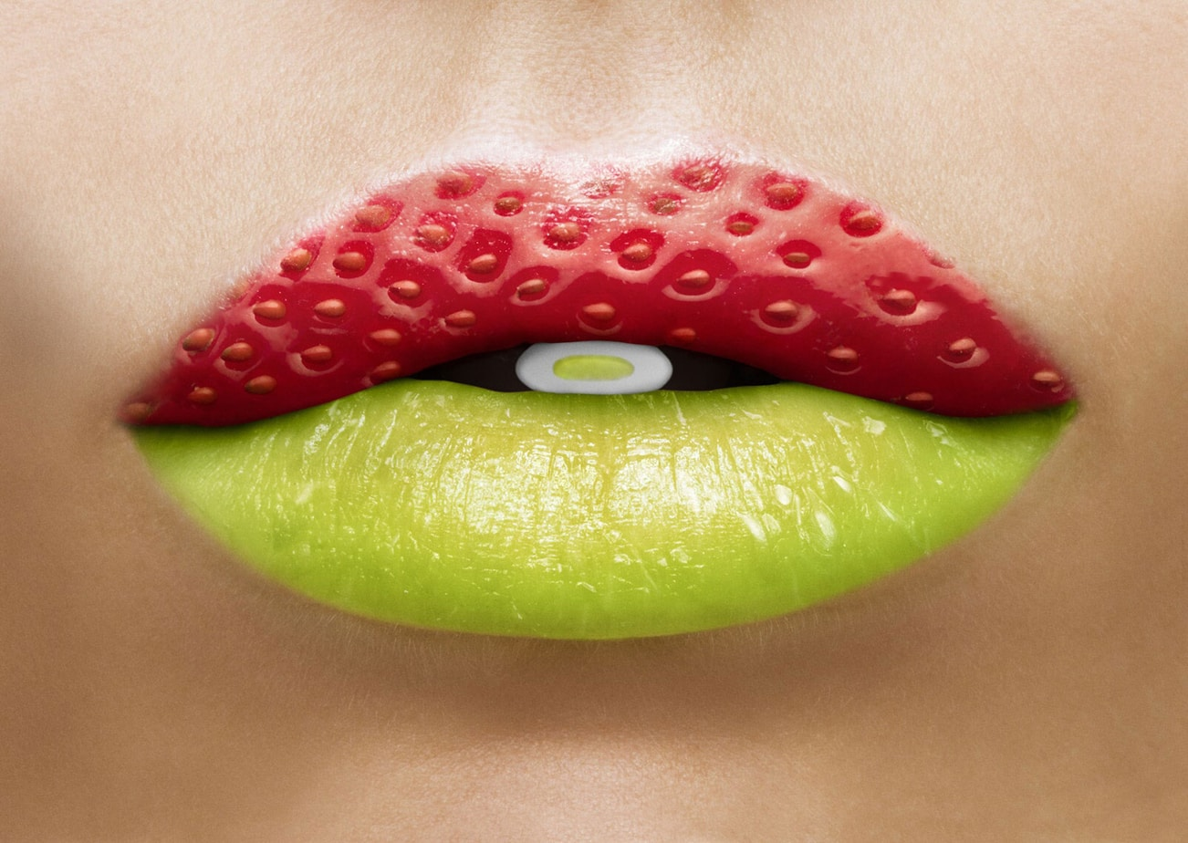 The Color Club - Stimorol lips strawberry lime2