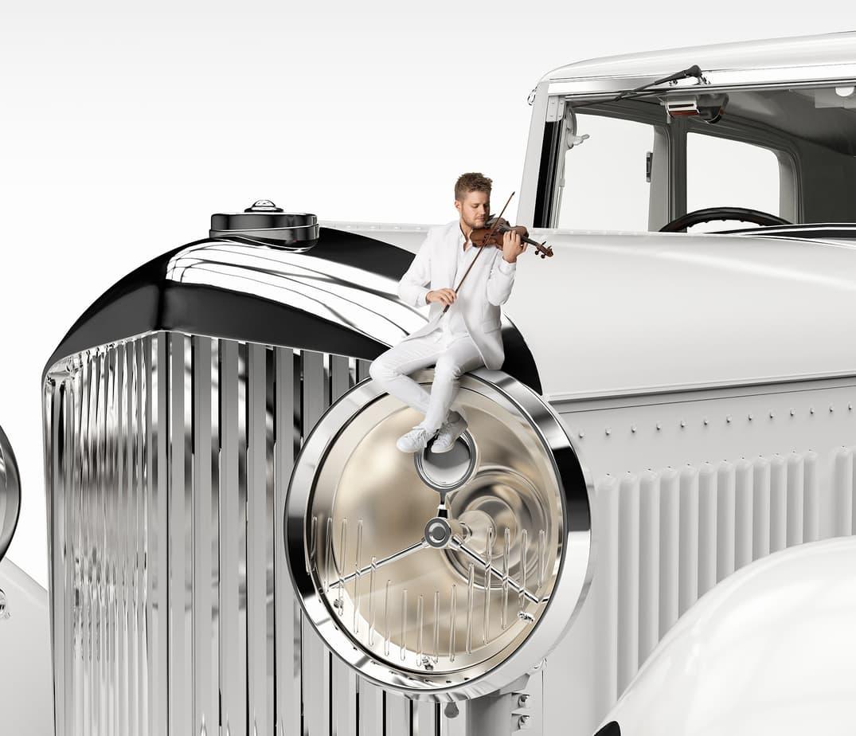 The Color Club - Novozymes Classic Car Violin