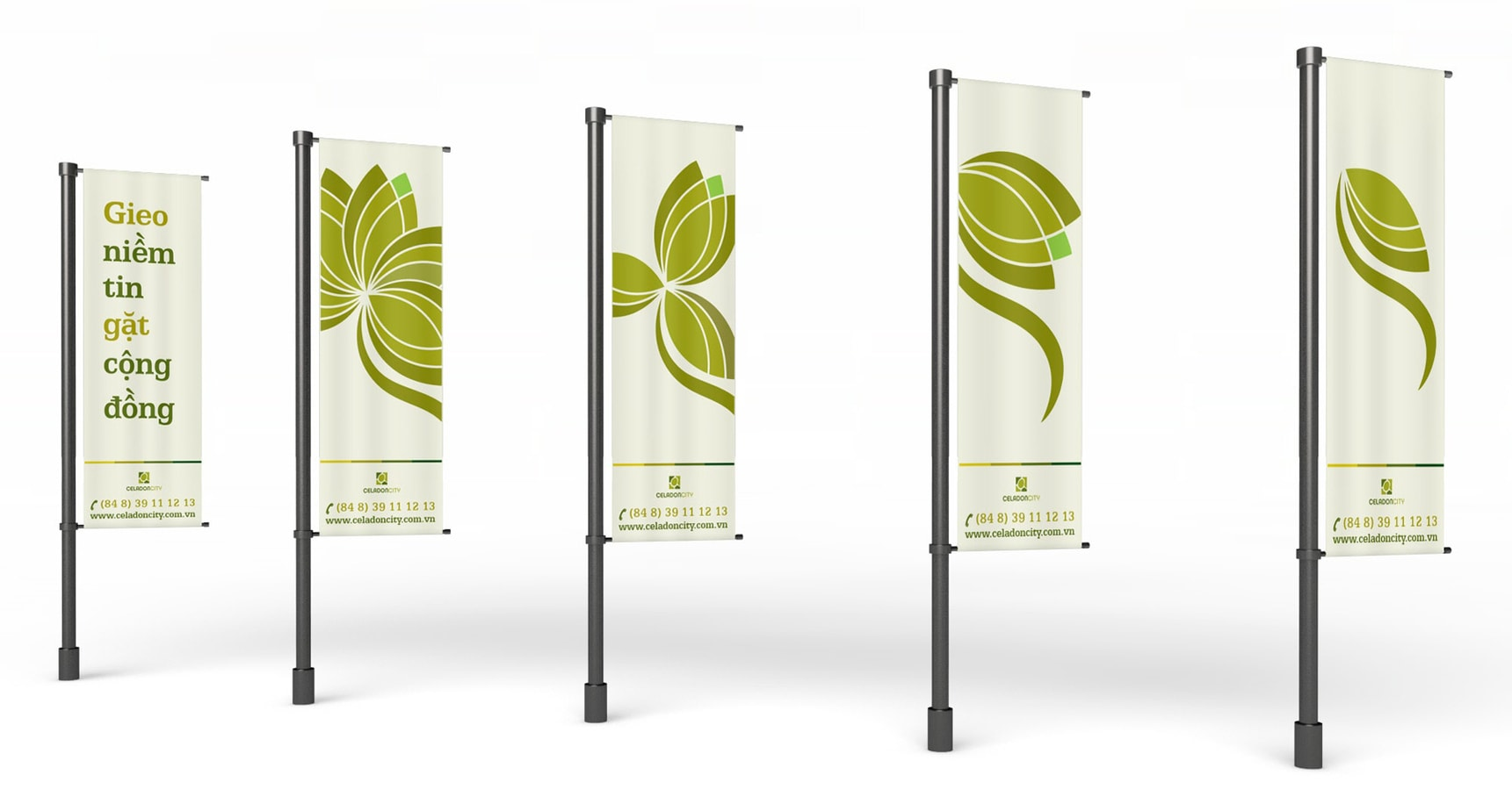 The Color Club - 04 celadon banners