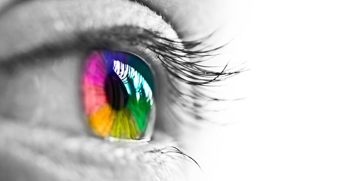 Picture Of Eye With Correct Colors