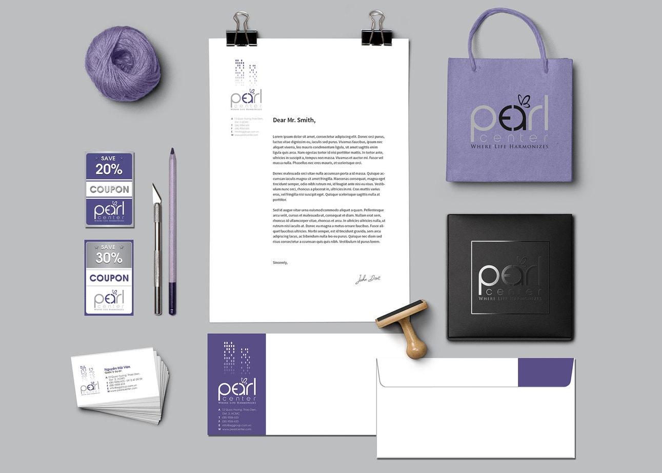 The Color Club - 4.Branding Identity MockUp