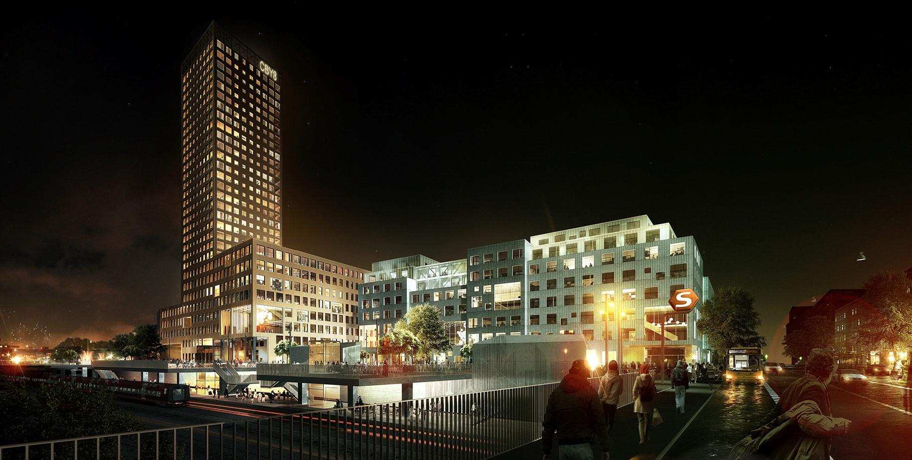 The Color Club - Carlsberg city credit Luxigon Energy 2