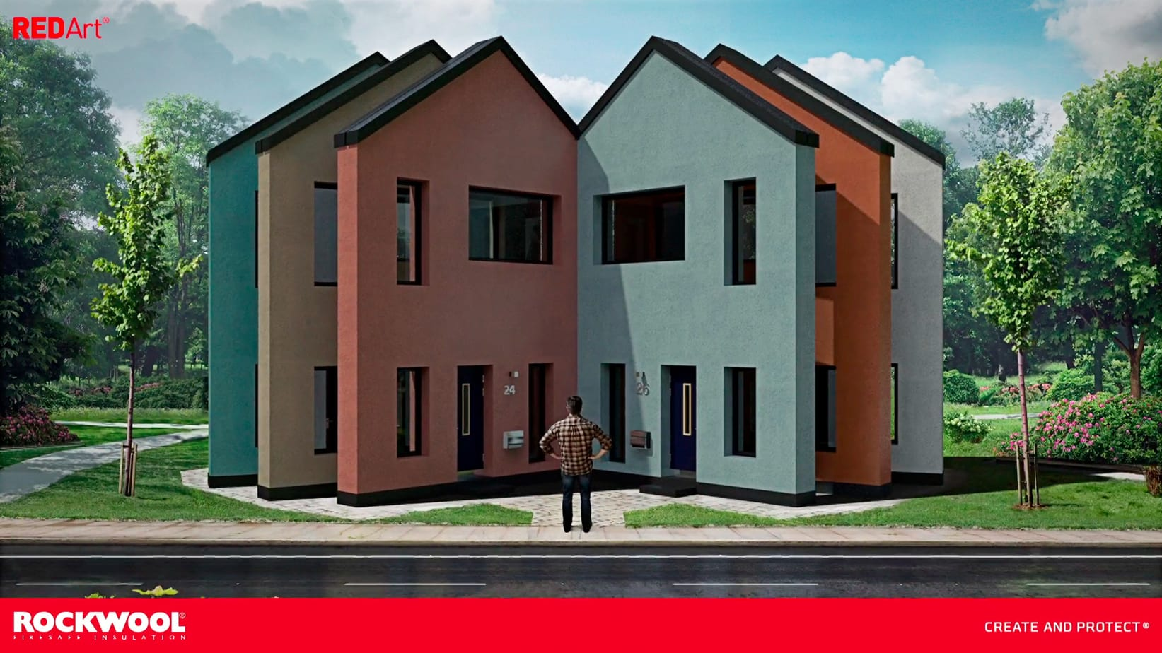 The Color Club - Rockwool Red Art