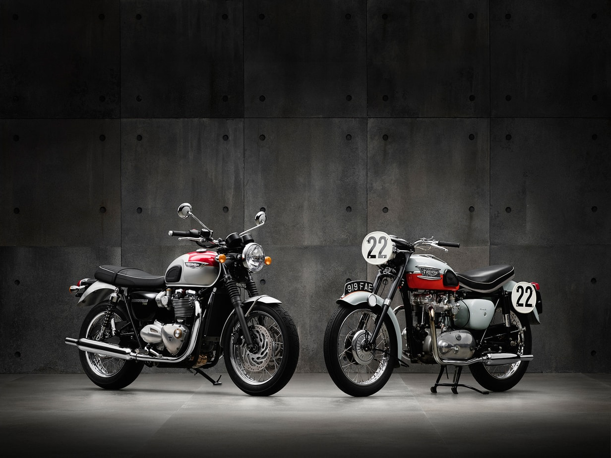 The Color Club - Triumph Two T120 heritage