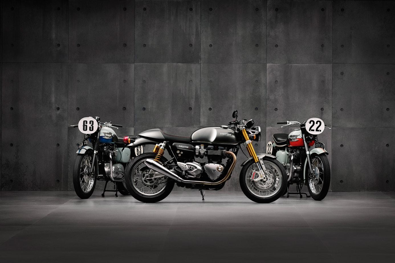 The Color Club - Triumph three heritage
