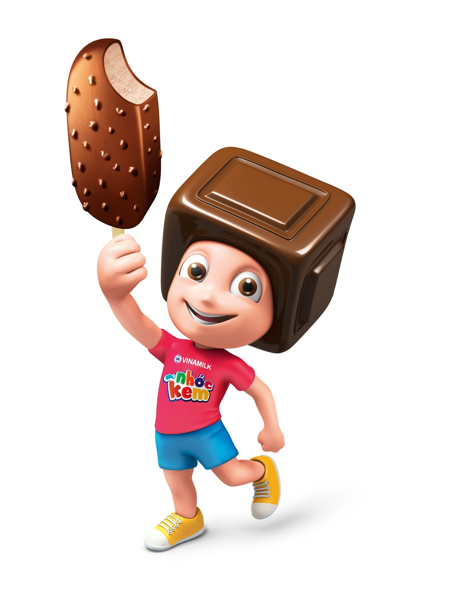 The Color Club - VNM Die Cut Standee Chocolate Character 01