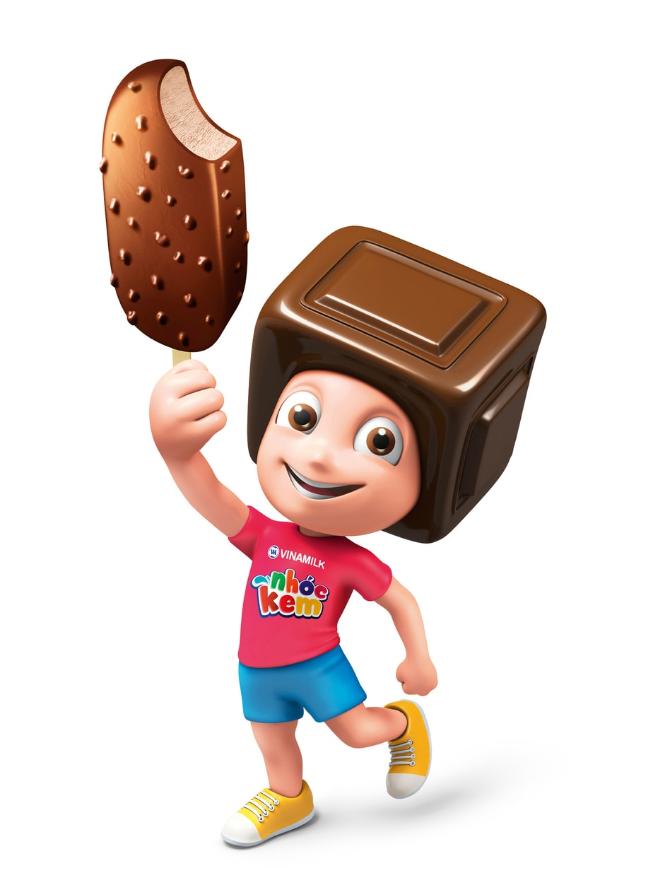 The Color Club - VNM Die Cut Standee Chocolate Character Thumbnail