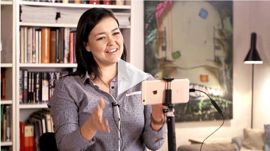 Sennheiser microphone for video recording