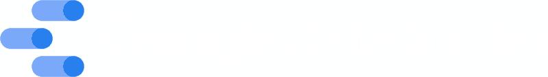 Google Data Studio logo white