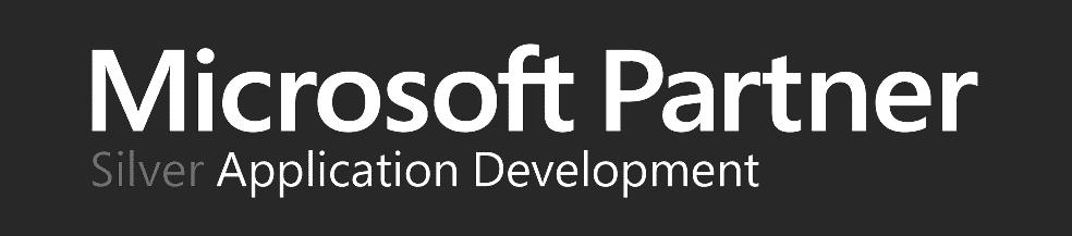 Microsoft partner silver white