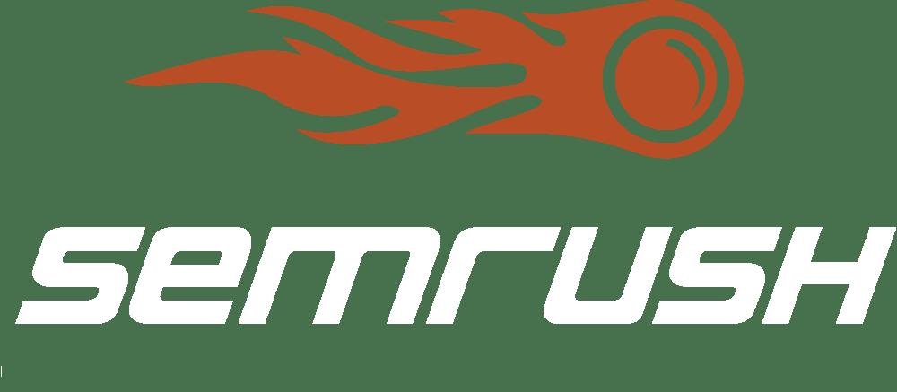 Semrush logo white